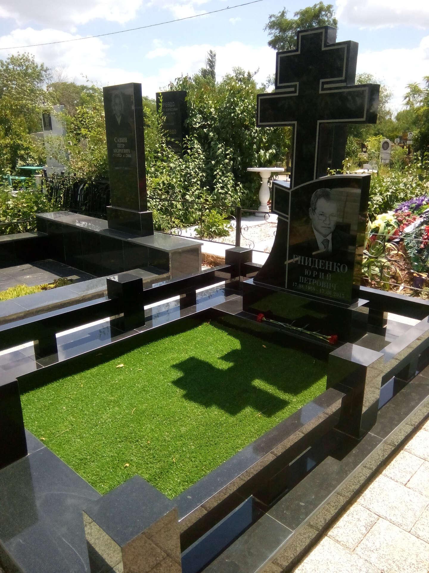Оформление могилы своими руками фото 581
