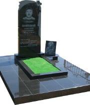 Памятник на могилку Лесогорск Ваза. Габбро-диабаз ВДНХ